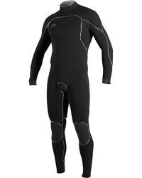 O'neill Sportswear Psycho One 3/2mm Back-zip Full Wetsuit - Black