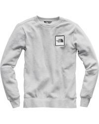 The North Face - Pullover Novelty Box Crew Sweatshirt - Lyst