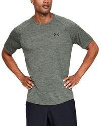 Under Armour Tech 2.0 Mens Short Sleeve Training T-Shirt Gravity Green