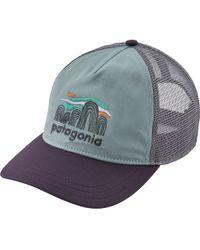 Patagonia - Fitz Roy Boulders Layback Trucker Hat - Lyst