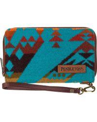 Pendleton Smart Phone Wallet - Blue