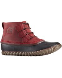 Sorel - Out 'n About Leather Boot - Lyst