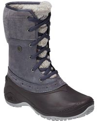 The North Face Shellista Roll-down Winter Boot - Gray