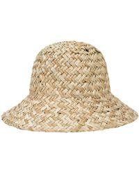 Lyst - Brixton Levon Fedora Hat 9fd0471f5cd