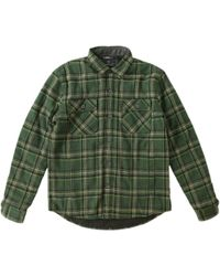 Roark Revival Jamie Thomas Chief Flannel Shirt Jacket - Green