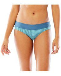 Carve Designs Catalina Bikini Bottom - Blue