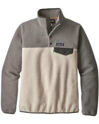 Patagonia Synchilla Snap-t Fleece Pullover - Gray
