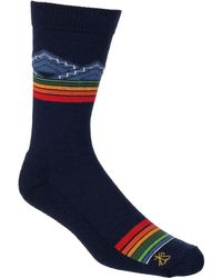 Pendleton - Merino Jacquard Park Sock - Lyst