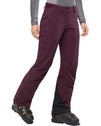 Salomon Brilliant Pant - Purple