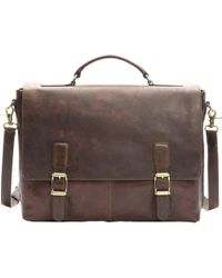 Frye Logan Top Handle Bag - Brown