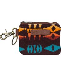 Pendleton Id Pouch Key Ring - Multicolor