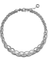 John Hardy Collar Braided Necklace - Lyst