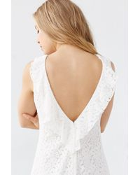 Kimchi Blue - Lace Plunge-back Frock Dress - Lyst