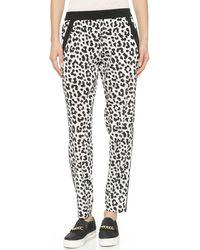 DKNY Pull On Pants - Milkblack - Lyst
