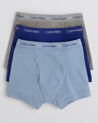 Calvin Klein Stretch Trunks Pack Of 3 - Lyst