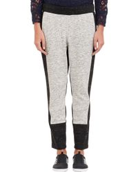 Sea Melange Colorblock Sweatpants - Lyst