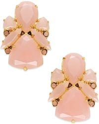 Kate Spade - 14k Gold-plated Colour Pop Stud Earrings - Lyst