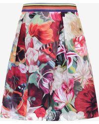 Ted Baker | Floral Swirl Skirt | Lyst