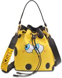 Moschino Sponge Bob Bucket Bag - Lyst