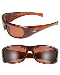 Kaenon | 'klay' 64mm Polarized Sunglasses - Tobacco/ Copper C12 | Lyst