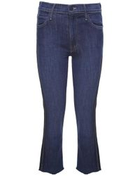 Mother - The Rascal Ankle Snipper Mid-rise Jeans - Lyst