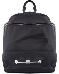 Rick Owens - Leather-trimmed Nylon Backpack Drkshdw - Lyst