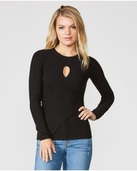 Bailey 44 - Dunaway Woven Front Rib Top - Lyst