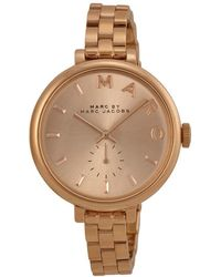 Marc Jacobs Sally Rose Gold Watches - Multicolor