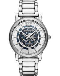 Emporio Armani Meccanico Watch Ar60006 - Metallic