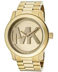 Michael Kors Darci Pink Dial Stainless Steel - Multicolor