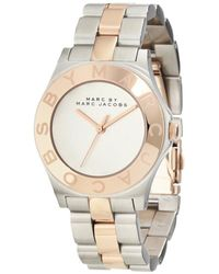 Marc Jacobs Blade Silver-gold Watches - Multicolor
