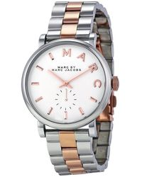 Marc Jacobs Blade Rose Gold-silver Watches - Multicolor