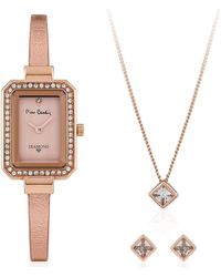Pierre Cardin Rose Gold Watches - Multicolor