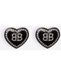 Balenciaga - Crush Earrings - Lyst