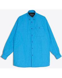 Balenciaga - Big Padded Shirt - Lyst