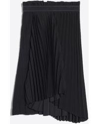 Balenciaga Falda plisada de fantasía