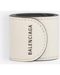 fd4de9e8bf8fc Lyst - Balenciaga Triple Tour Bracelet in Black for Men