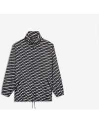 Balenciaga - Monogram Raincoat - Lyst