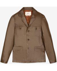 Bally - Leather Jacket - Lyst