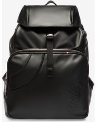 715c44bf2 Bally Ceripo Leather Backpack in Black for Men - Lyst
