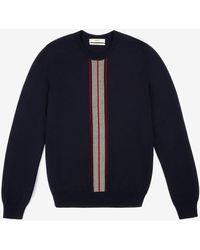 Bally Stripe Sweater - Blue