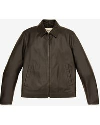 Bally Leather Blouson - Black