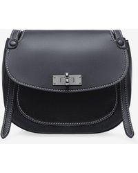 Bally - B Turn Saddle Bag Medium - Lyst