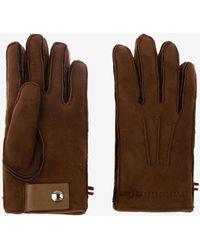 Bally Shearling Gloves - Brown