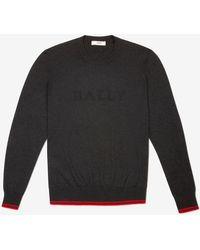 Bally Logo Sweater - Gray