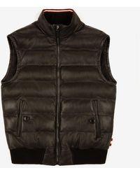 Bally Leather Vest - Black
