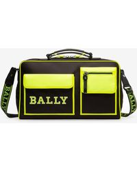 Bally Champion Jakob Duffel Bag - Black