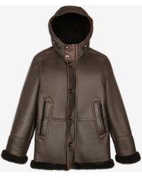 Bally Shearling Jacket - Brown