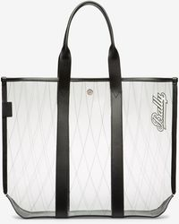 Bally - Canvas Tote Medium - Lyst