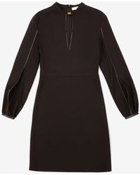 Bally V-neck Dress - Black